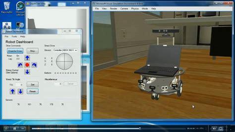 studio four microsoft robotics developer studio 4 beta gets kinected coding4fun kinect projects channel 9
