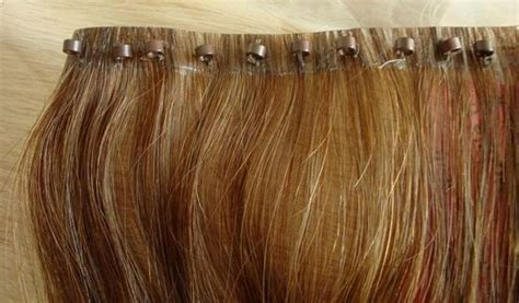 micro ring beaded weft micro thin weft weave hair weft hair extensions