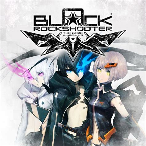 theme psp black rock shooter black rock shooter the game 2011 psp box cover art
