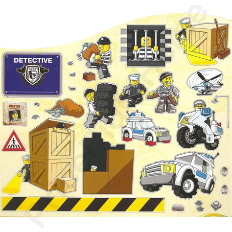 lego city wall stickers lego city wall stickers official new 25 pieces room