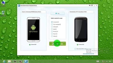 how to transfer contacts between android phones samsung to htc transfer directly copy contacts between two android phones
