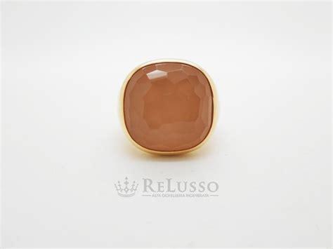 pomellato cipria anello pomellato collezione cipria in oro giallo e quarzo rosa