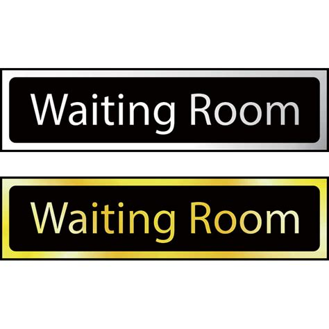 waiting room signs waiting room mini sign ese direct