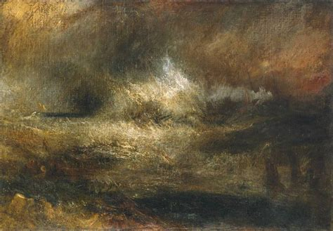 turner the sea stormy sea william turner and oil on canvas on