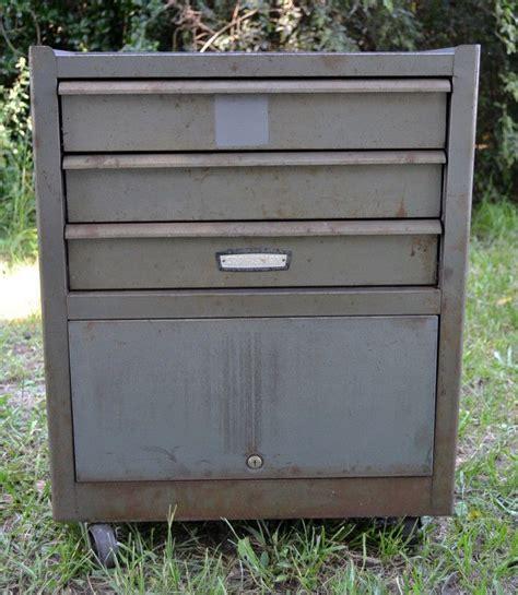 craftsman 3 drawer tool box rolling large vintage craftsman rolling toolbox tool chest cabinet
