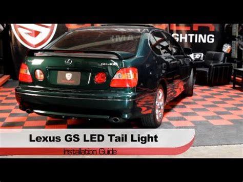 2006 lexus gs300 tail light replacement spyder auto installation 1998 2005 lexus gs300 gs400 led