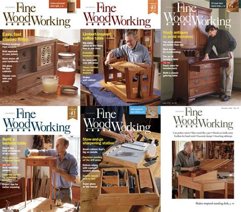 fine woodworking  full year   magazines