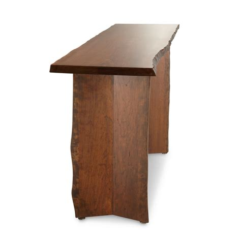 live edge sofa table live edge console table ls1707 live edge console sofa