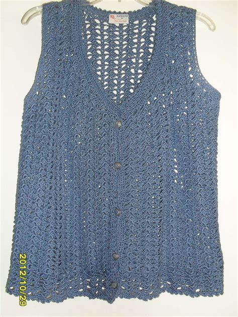 pattern crochet vest womens open shell hand crochet design pattern womens vest with