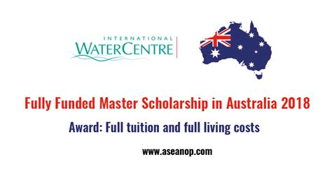 Fully Funded Mba Scholarships In Australia by Iwc Masters Scholarships For International Students In