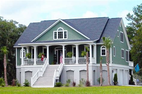 low country home plans 3 bedroom low country with media room 9142gu 1st floor
