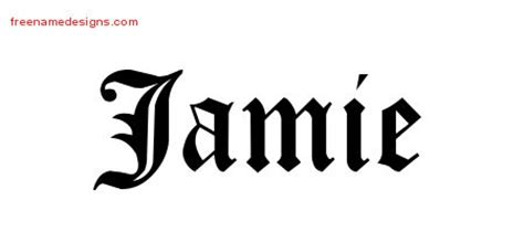 tattoo lettering for jamie jamie archives page 2 of 3 free name designs