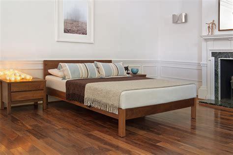 bed company sahara contemporary wooden bed natural bed company