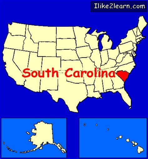 map usa south carolina south carolina