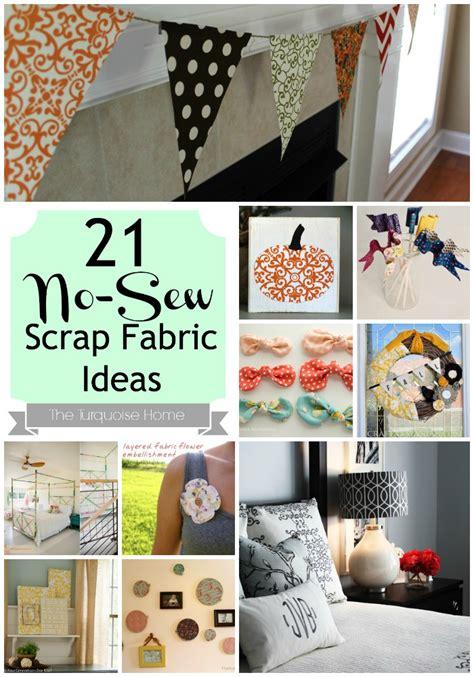 sew fabric scrap ideas roundup  turquoise home