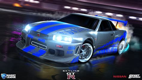 nissan gtr skyline fast and furious fast furious rocket league 174 official site