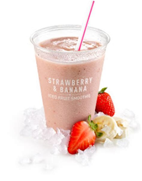0 propoints fruit mcdonald s new smoothies and frappe s weight watchers
