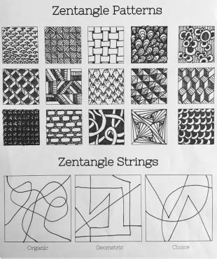 zentangle pattern squares zentangle square fhs art