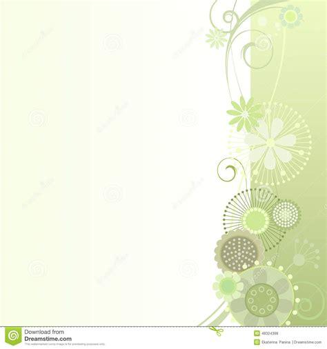 flower light floral background in light green stock vector image