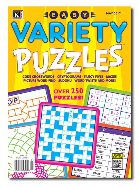 variety puzzle books for adults sudoku kakuro futoshiki calcudoku 400 number puzzles volume 1 400 variety number puzzles books variety kappa puzzles