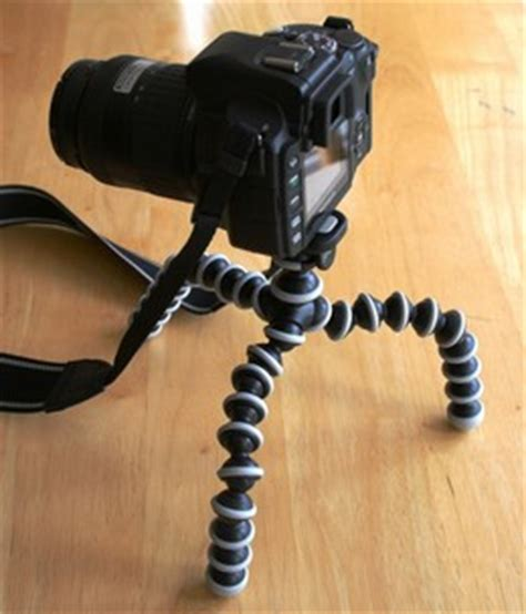 Gorilla Pod Original Travelling joby gorillapod slr tripod review digitalcamerareview