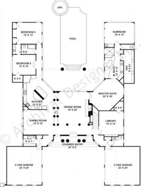 best selling floor plans 47 best images about u shaped houses on pinterest house