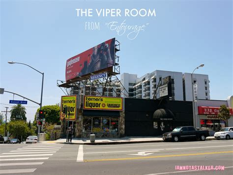 The Room Locations The Viper Room From Quot Entourage Quot Iamnotastalker