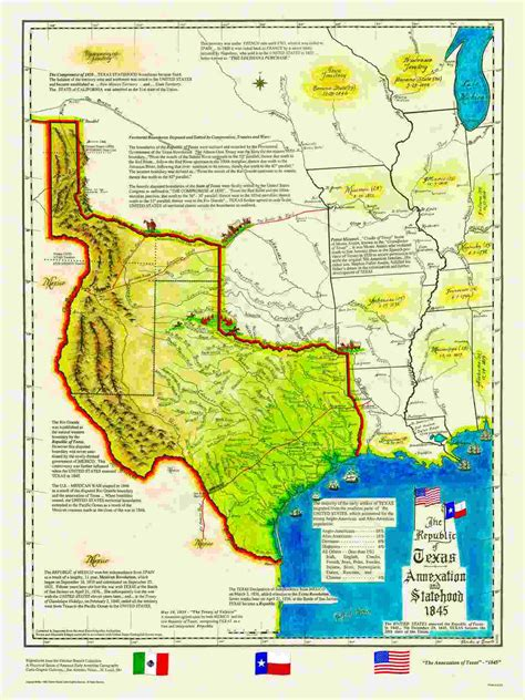 texas history map opinions on republic of texas