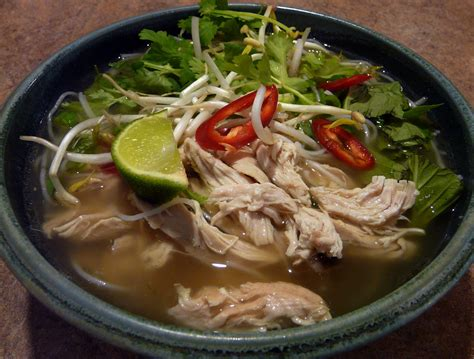 pho ga vietnamese chicken noodle soup recipes dishmaps