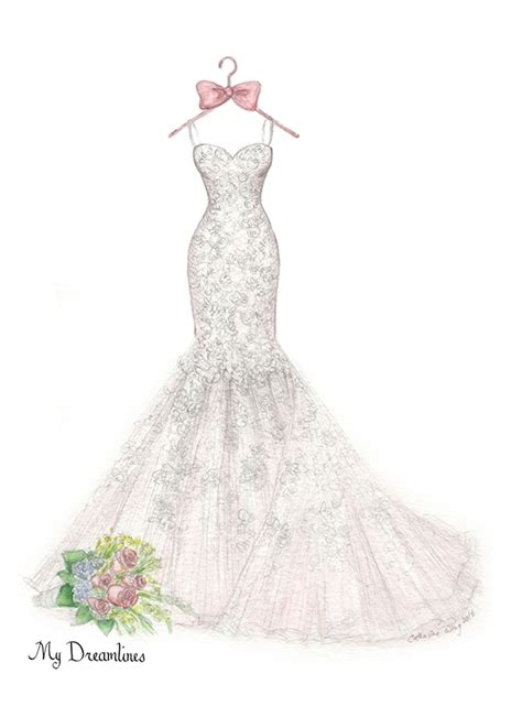 wedding dress sketch wedding dress sketch gallery dreamlines sketches