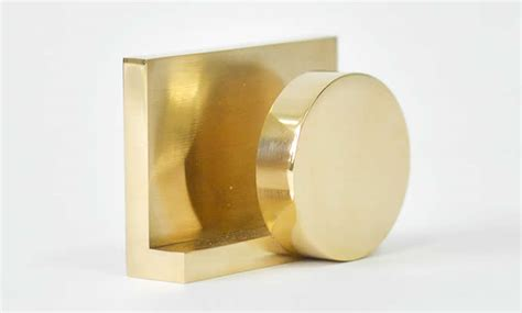 Gold Business Card Holder Desk