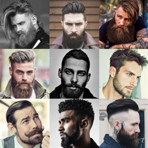 Awesome Hairstyles For Guys With Beards by Cool Beards And Hairstyles For S Haircuts