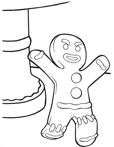gingerbread man coloring page pdf 15 gingerbread man templates colouring pages free