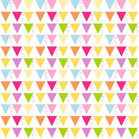 pattern paper digital free digital party bunting scrapbooking paper