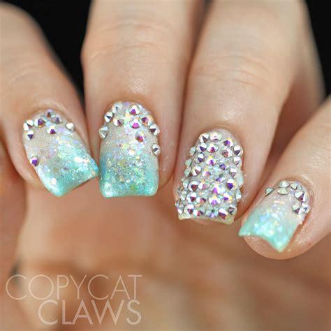 swarovski for nails copycat claws swarovski nails inspired by