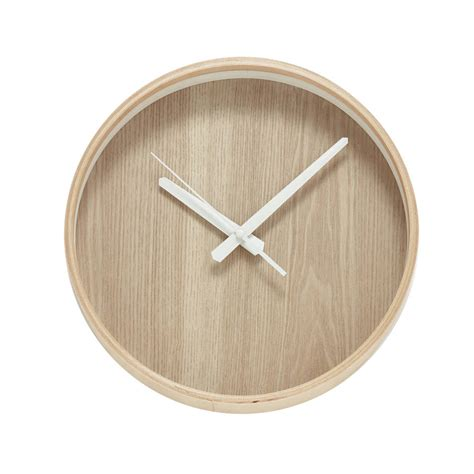 wooden clocks minimalist wooden clock by peastyle notonthehighstreet com