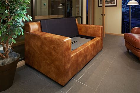 Gun Safe Sofa by Bunker Custom Furniture Bullet Proof Armor