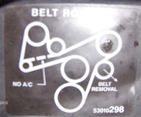 1996 jeep serpentine belt diagram 97 jeep grand laredo 4 0 serpentine belt i