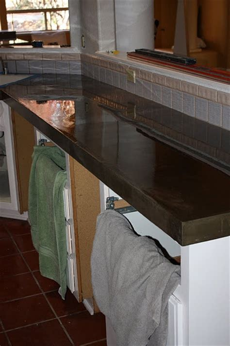 How To Attach A Bar Top 17 Best Images About Concrete Countertops On