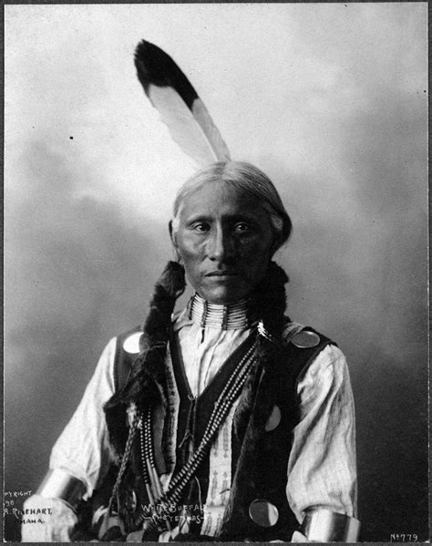Cheyenne L by Photo 1890s White Buffalo American Cheyenne