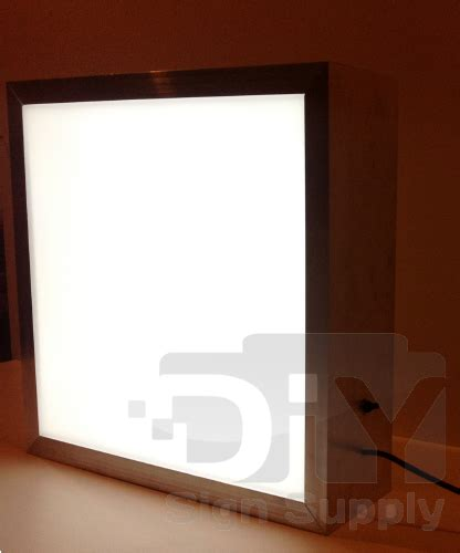 diy lighted picture frame diy sign supply lighted sign box kits for sale outdoor