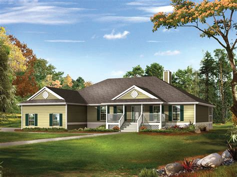 country style ranch house plans farm pond country ranch home plan 081d 0041 house plans