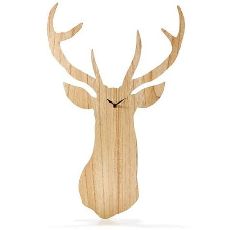 Country Decorations Stag Clock Kmart Ugly Clock Nice Wall Decoration