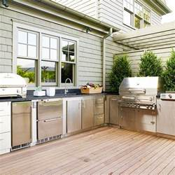 Ideas For Outdoor Kitchens by 95 Cool Outdoor Kitchen Designs Digsdigs