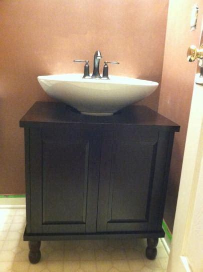 sinkwrap        vanity cabinet