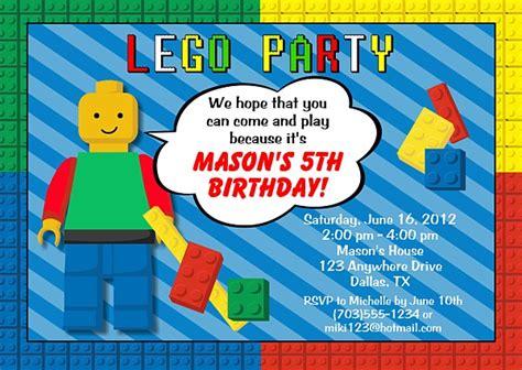 lego birthday invitations lego birthday invitations construction birthday