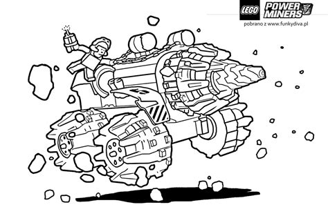lego coloring pages to print power miners lego coloring pages getcoloringpages com
