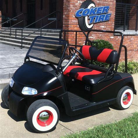 coker classic golf cart    whitewall