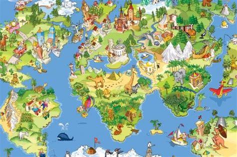 Explorer World Map Mural Muralswallpaper - animal map wallpaper mural map wallpaper wallpaper