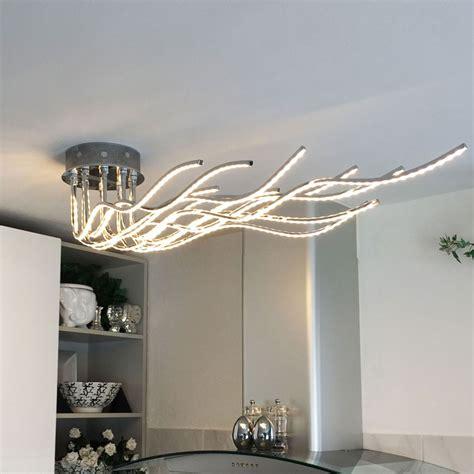 Designer Deckenleuchte by Sculli Design Led Deckenleuchte Mit Metallarmen 11514